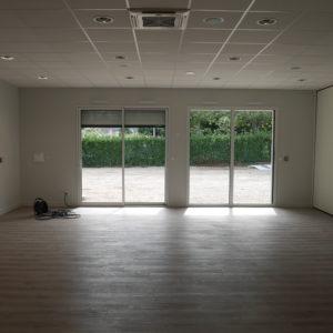 Intérieur de la salle polyvalente à Questembert