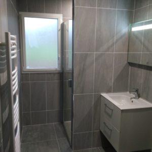 Salle de bain toute neuve