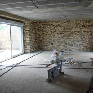 Longère à Arradon en cours de rénovation