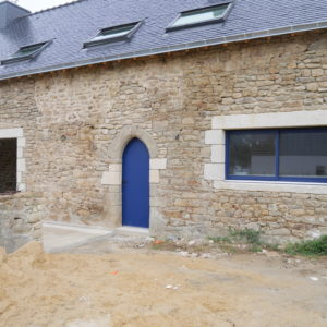 Façade N°2 d'une longère rénovée à Arradon
