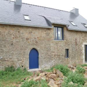 Façade N°1 d'une longère rénovée à Arradon