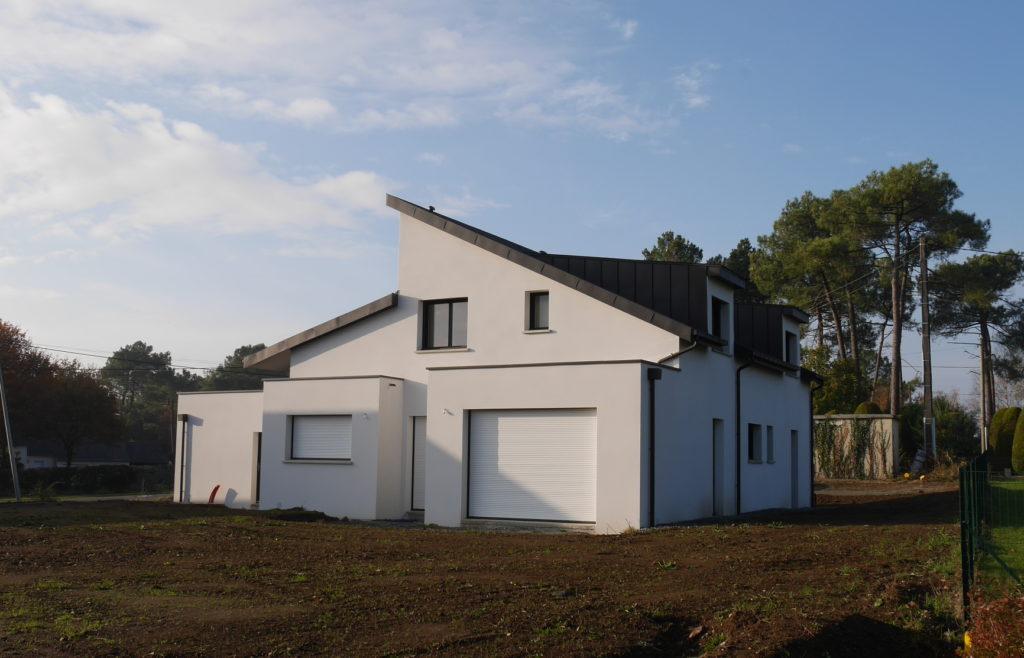 Construction maison neuve moderne